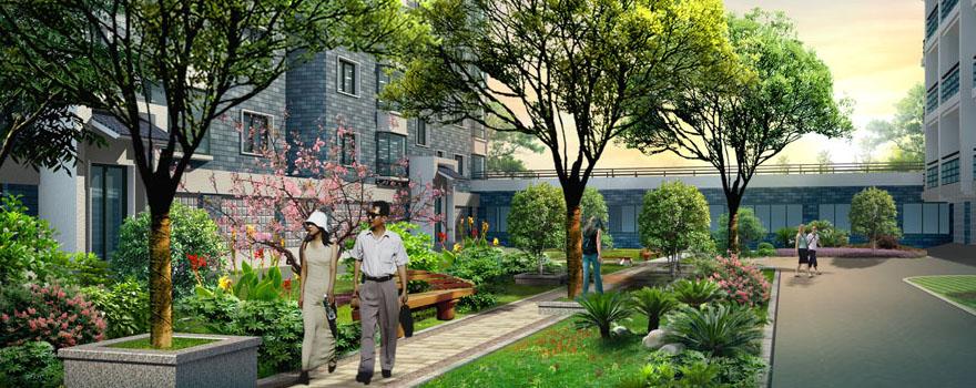 居住区环境景观设施总结